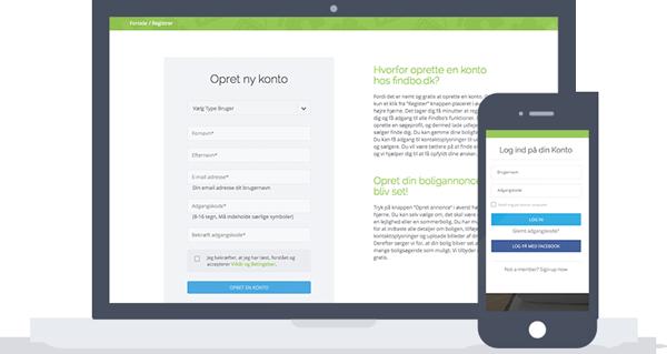 Create an Account on Findbo